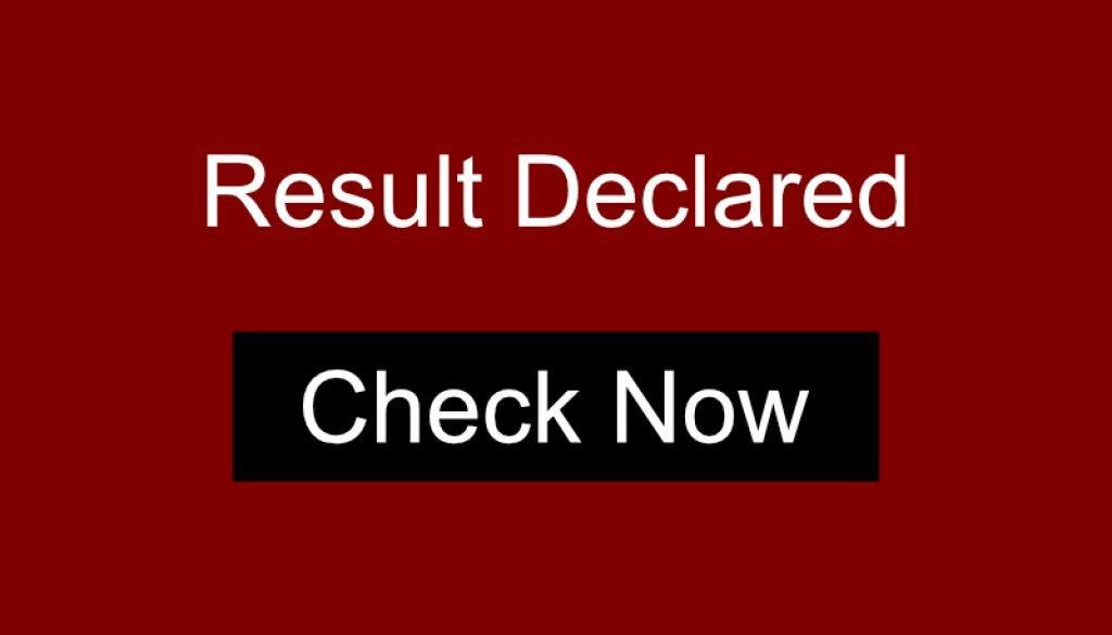 result-declared