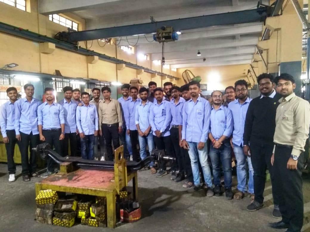 Industrial Visit PMT workshop swargate