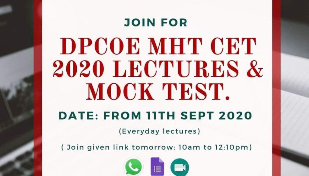 MHCET Mock Classes
